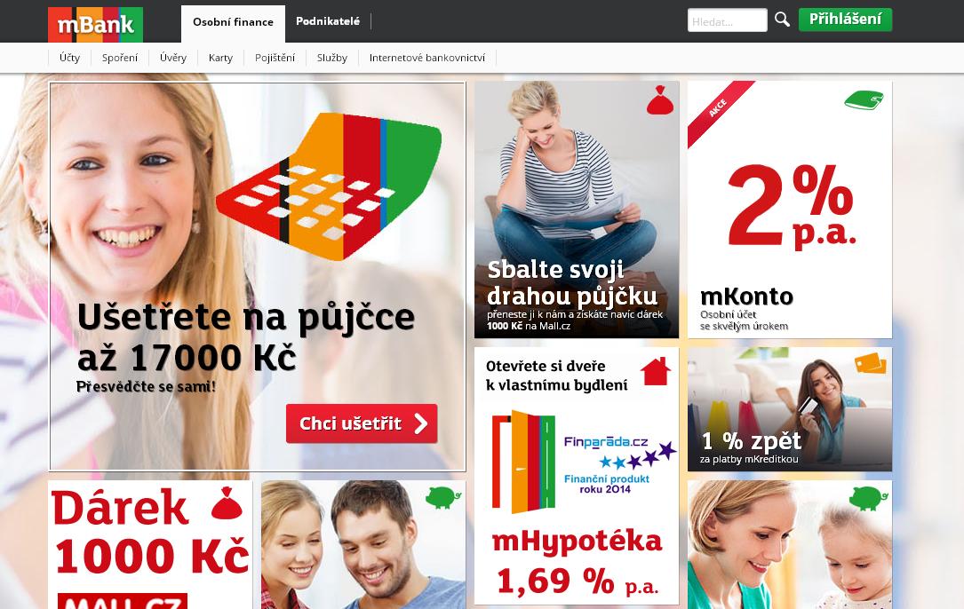 m Banka - osobni finance